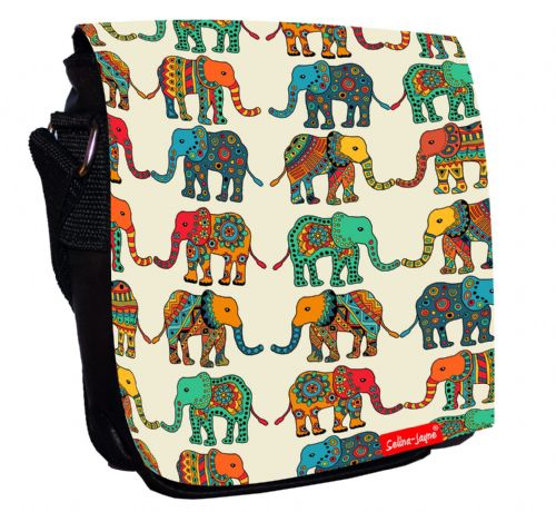 Selina-Jayne Elephants Limited Edition Designer Small Cross Body Shoulder Bag